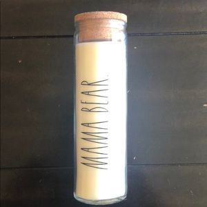 "RAE DUNN ""MAMA BEAR"" Tall Candle"